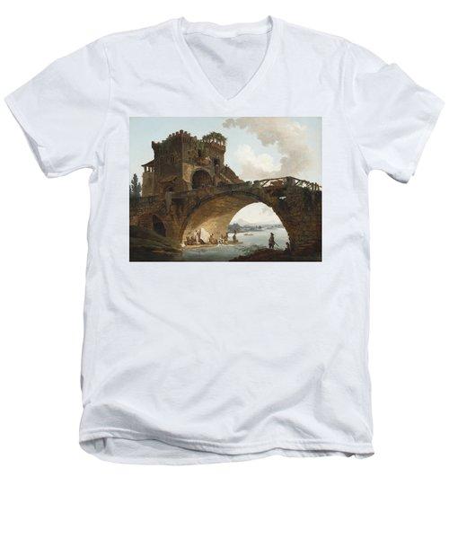 The Ponte Salario Men's V-Neck T-Shirt