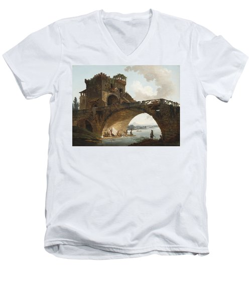 The Ponte Salario Men's V-Neck T-Shirt