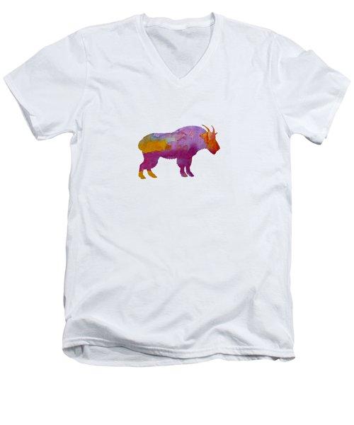 Wild Goat Men's V-Neck T-Shirt