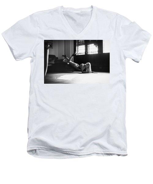 .. Men's V-Neck T-Shirt