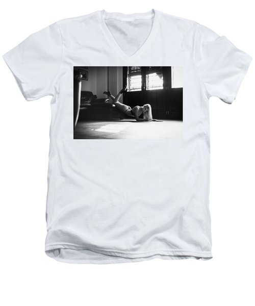 .. Men's V-Neck T-Shirt