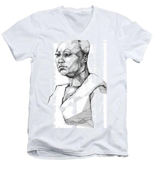 20140101 Men's V-Neck T-Shirt