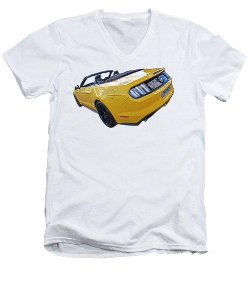 2016 Rhd Mustang Gt Men's V-Neck T-Shirt