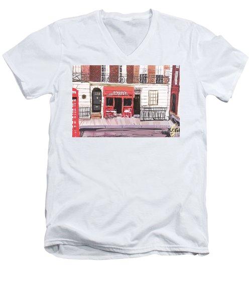 221 B Baker Street Men's V-Neck T-Shirt