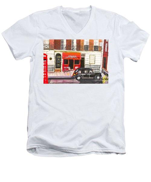 221b Men's V-Neck T-Shirt