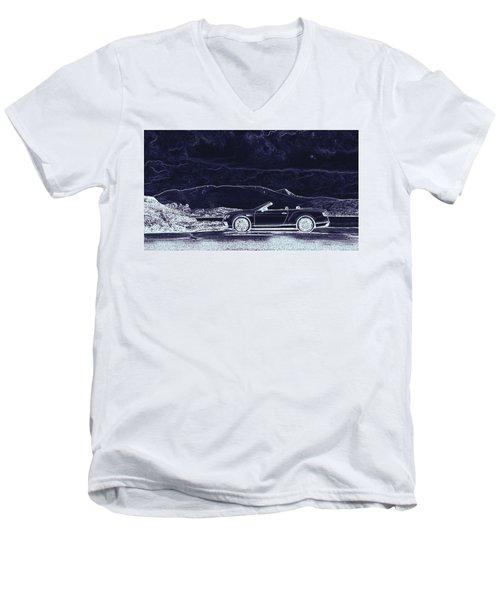 Bentley Continental Gt Men's V-Neck T-Shirt