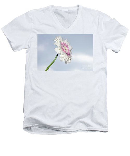 Beautiful Gerber Men's V-Neck T-Shirt by Elvira Ladocki