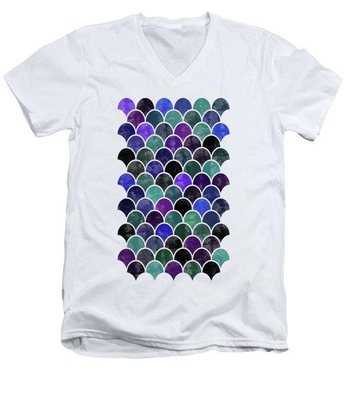 Lovely Pattern Men's V-Neck T-Shirt