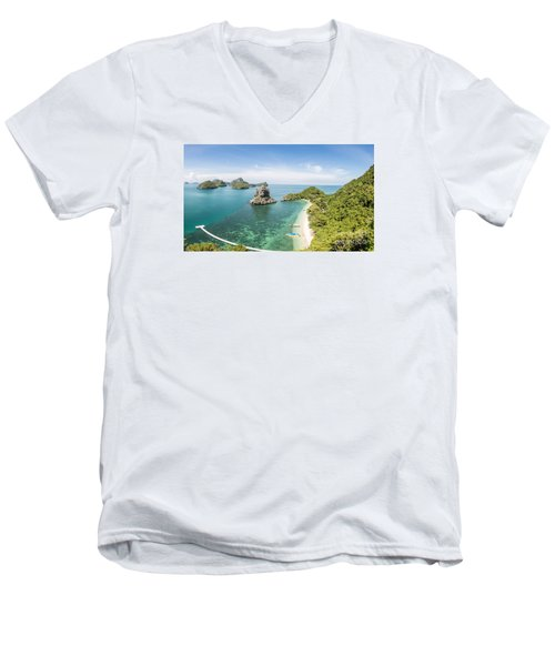 Ang Thong Marine National Park Men's V-Neck T-Shirt