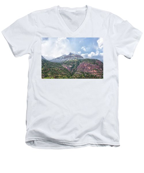 Colorado Fall Foliage 3 Men's V-Neck T-Shirt
