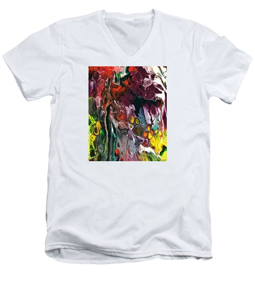 Detail Of Auto Body Paint Technician 4 Men's V-Neck T-Shirt