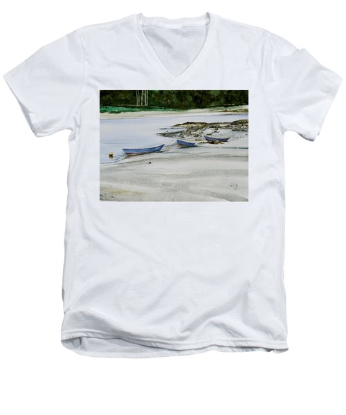 3 Dories Kennebunkport Men's V-Neck T-Shirt