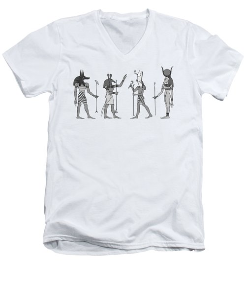 Gods Of Ancient Egypt Men's V-Neck T-Shirt