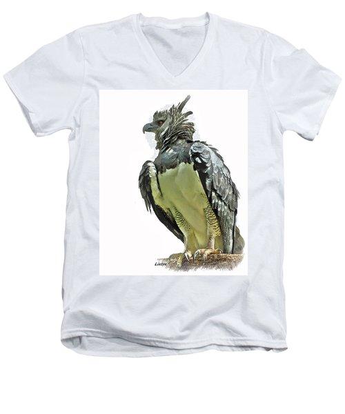 Harpy Eagle Men's V-Neck T-Shirt