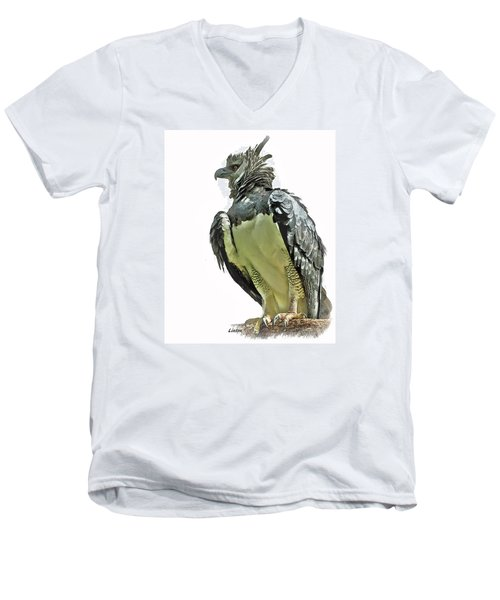 Harpy Eagle Men's V-Neck T-Shirt