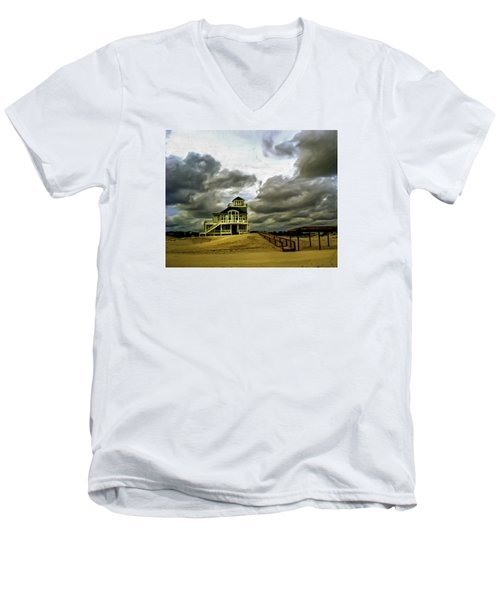 House At The End Of The Road Men's V-Neck T-Shirt by Gordon Engebretson