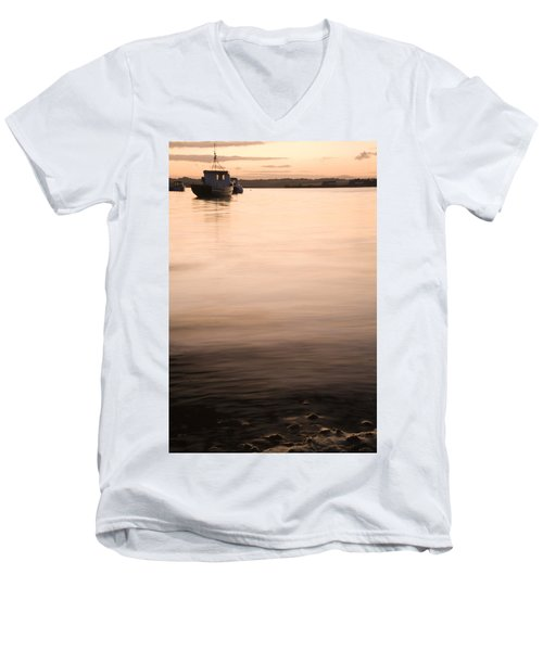 Men's V-Neck T-Shirt featuring the photograph Irish Dusk by Ian Middleton