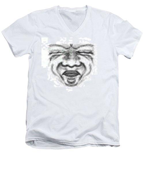 Magic Face Men's V-Neck T-Shirt