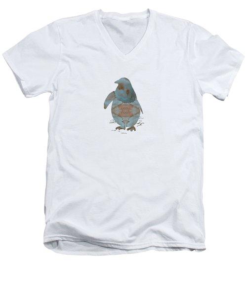 Penguin Men's V-Neck T-Shirt