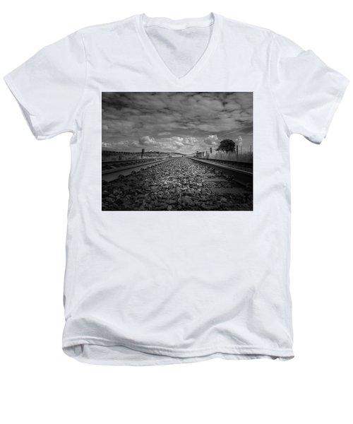 Plumpton Viaduct Men's V-Neck T-Shirt