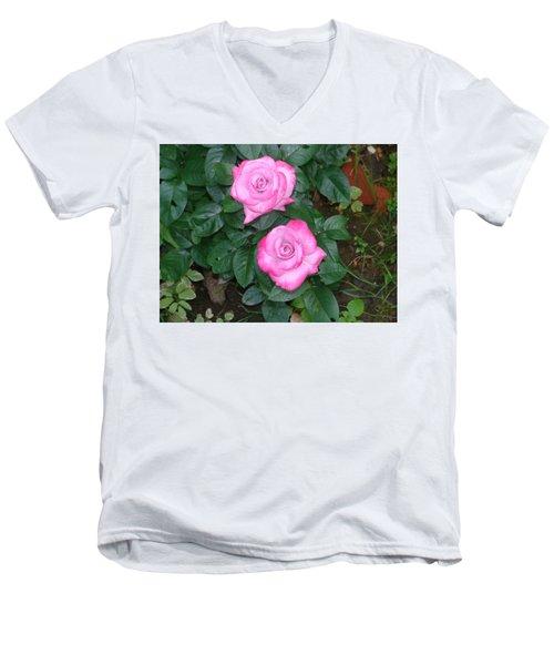 Paradise Rose Men's V-Neck T-Shirt