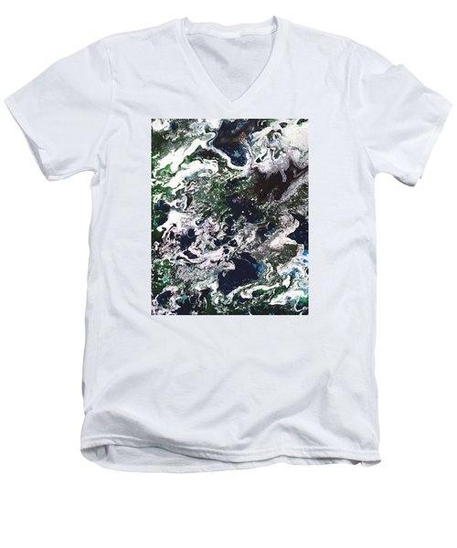Space Odyssey 2 Men's V-Neck T-Shirt
