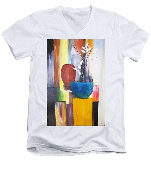 3 Vases Men's V-Neck T-Shirt