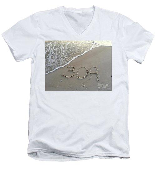 30a Beach Men's V-Neck T-Shirt