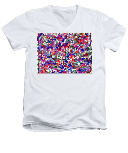 B T Y L Men's V-Neck T-Shirt
