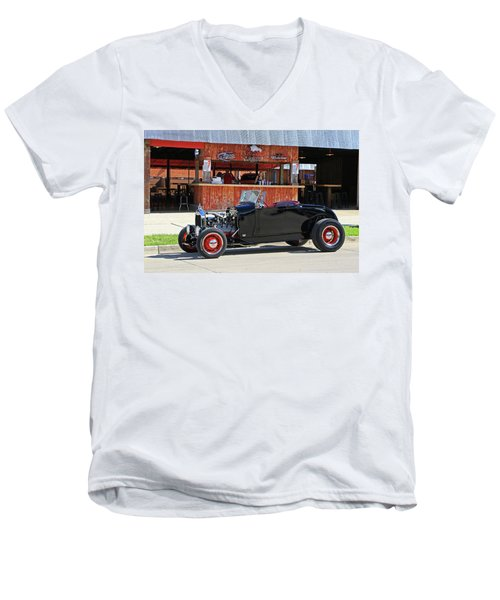 32 Roadster Men's V-Neck T-Shirt by Christopher McKenzie