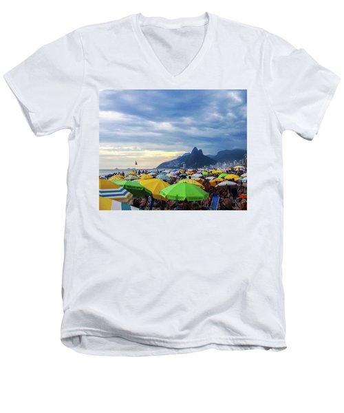 Rio De Janeiro Men's V-Neck T-Shirt
