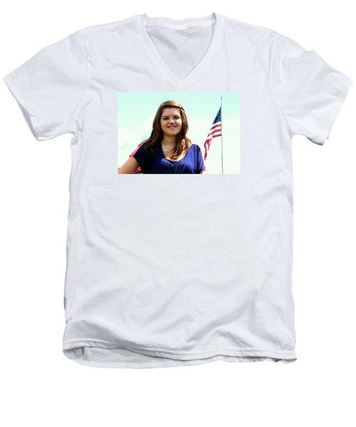 3631v2 Men's V-Neck T-Shirt by Mark J Seefeldt