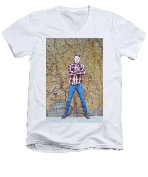 3738 Men's V-Neck T-Shirt