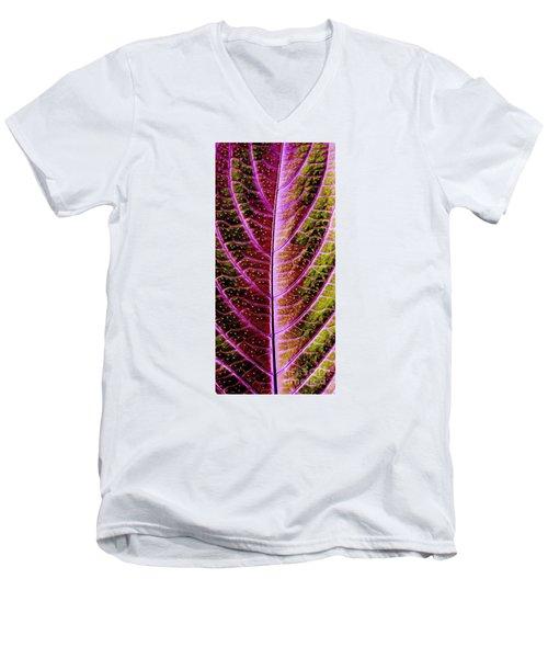 Abstract Men's V-Neck T-Shirt by Tony Cordoza