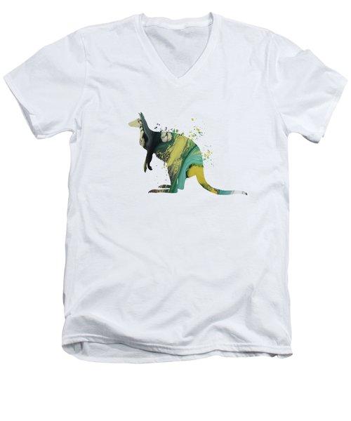 Kangaroo Men's V-Neck T-Shirt