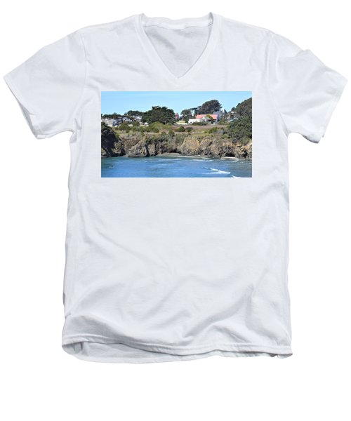 Mendocino Men's V-Neck T-Shirt