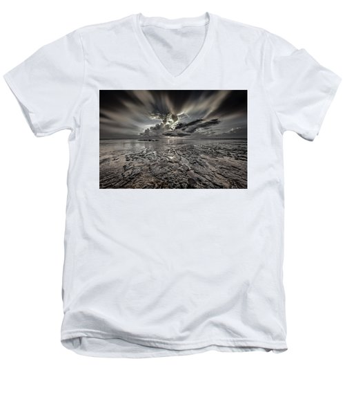 Seascape Of Hilton Head Island Men's V-Neck T-Shirt