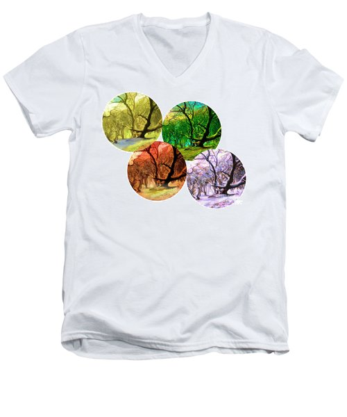 4 Seasons Men's V-Neck T-Shirt