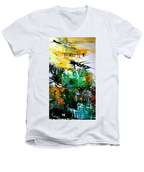 Series 2017 Men's V-Neck T-Shirt by David Hatton