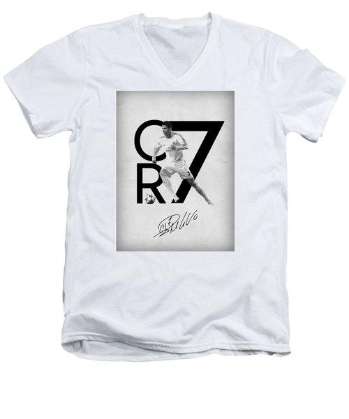Cristiano Ronaldo Men's V-Neck T-Shirt