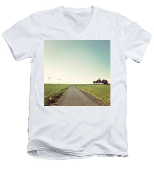 Instagram Photo Men's V-Neck T-Shirt