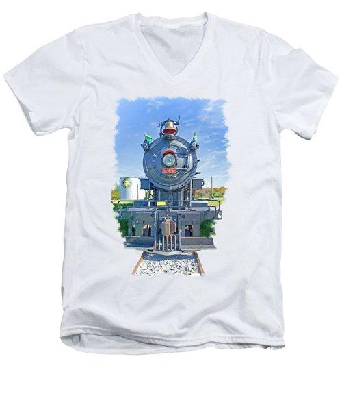 542 Men's V-Neck T-Shirt by Larry Bishop