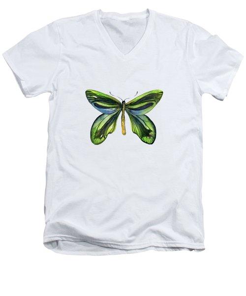 6 Queen Alexandra Butterfly Men's V-Neck T-Shirt