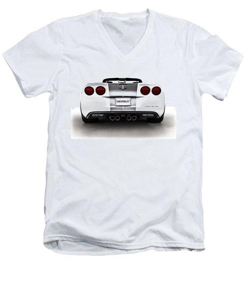 60th Anniversary Corvette Men's V-Neck T-Shirt