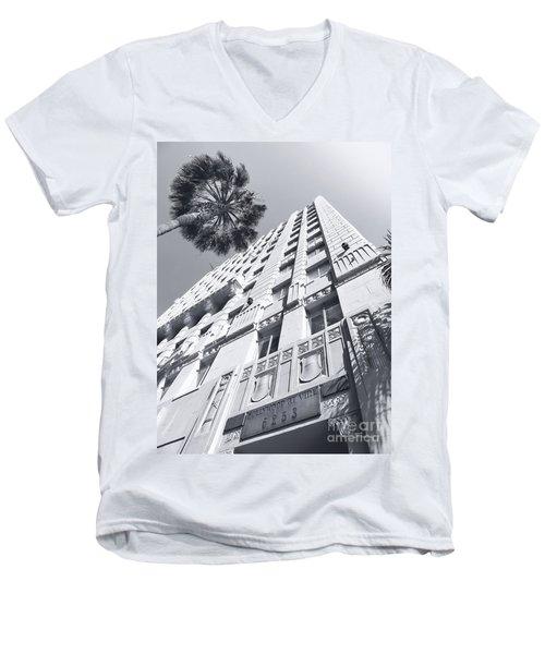 6253 Hollywood At Vine Men's V-Neck T-Shirt