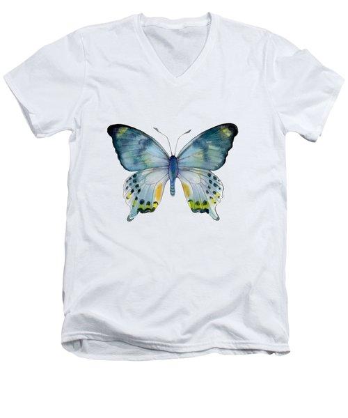 68 Laglaizei Butterfly Men's V-Neck T-Shirt by Amy Kirkpatrick