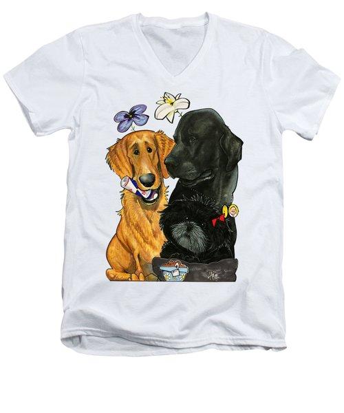 7-1396 Scallon Men's V-Neck T-Shirt