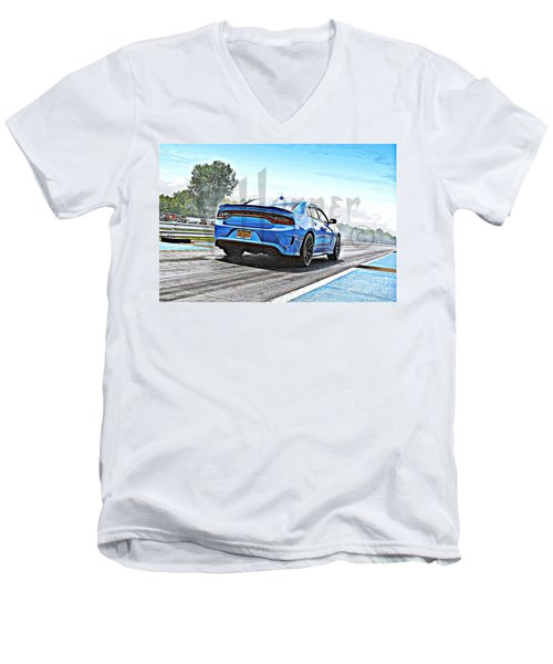 8613 06-15-2015 Esta Safety Park Men's V-Neck T-Shirt