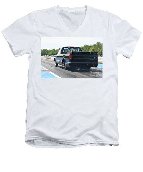 8681 06-15-2015 Esta Safety Park Men's V-Neck T-Shirt