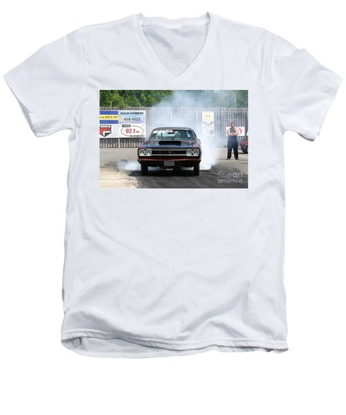 8688 06-15-2015 Esta Safety Park Men's V-Neck T-Shirt